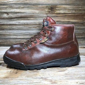 Vintage Vasque Leather Gore-Tex Brown Hiking Boots